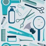 Modello di lavoro di parrucchiere Fotografie Stock Libere da Diritti