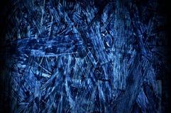 Modello di legno blu del pannello truciolare fotografia stock libera da diritti