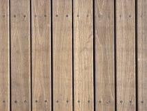 Modello di legno del fondo di struttura della plancia Fotografie Stock Libere da Diritti