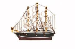 Modello di legno della barca Fotografia Stock