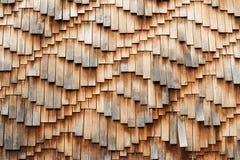 Modello di legno della parete delle mattonelle fotografia stock libera da diritti