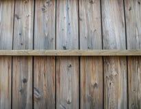 Modello di legno della parete in orizzontale Immagine Stock Libera da Diritti
