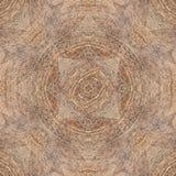 Modello di legno duro quadrato senza cuciture neutrale del pavimento di parquet con tri Fotografia Stock Libera da Diritti