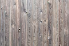 Modello di legno marrone scuro del pannello di vecchio lerciume con bella struttura astratta della superficie del grano, fondo a  immagine stock libera da diritti