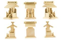Modello di legno rf del santuario Immagini Stock Libere da Diritti
