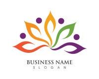 Modello di logo di cura della Comunità royalty illustrazione gratis