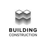 Modello di logo della costruzione della società illustrazione di stock