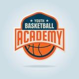 Modello di logo di pallacanestro Fotografia Stock Libera da Diritti