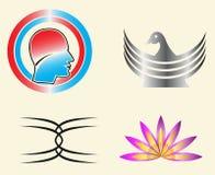 Modello di logo di vettore Immagini Stock