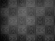 Modello di m. immagini stock