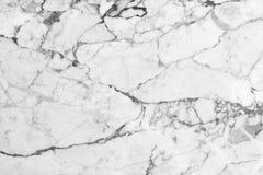 Modello di marmo bianco del fondo di struttura con l'alta risoluzione MA Fotografia Stock Libera da Diritti