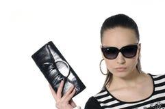 Modello di moda immagini stock libere da diritti