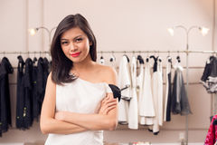 Modello di moda Immagini Stock