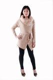 Modello di moda asiatico Immagine Stock