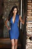 Modello di moda asiatico Fotografia Stock
