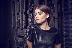 Modello di moda di fascino. Immagini Stock