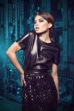 Modello di moda di fascino. Fotografia Stock