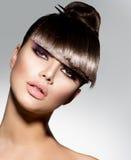 Modello di moda Girl Portrait Fotografie Stock