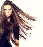 Modello di moda Girl Portrait Immagine Stock