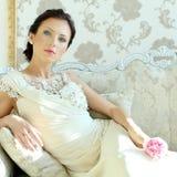 Modello di moda, ritratto Fotografie Stock