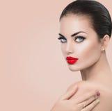 Modello di moda Woman di bellezza immagini stock libere da diritti