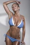 Modello di modo del bikini Fotografie Stock