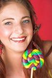 Modello di modo femminile Fotografie Stock