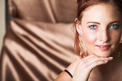 Modello di modo femminile Fotografia Stock