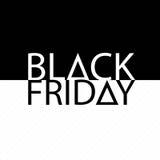 Modello di monocromio di progettazione dell'iscrizione di vendita di Black Friday Illustrazione di vettore illustrazione vettoriale