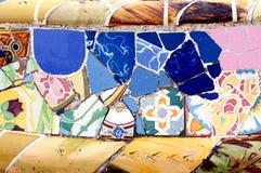 Modello di mosaico casuale - Gaudi Immagini Stock
