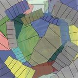 Modello di mosaico del fondo Illustrazione Vettoriale