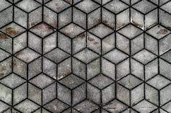 Modello di mosaico senza cuciture del plaid grigio, fondo, struttura fotografia stock libera da diritti
