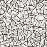 Modello di mosaico senza cuciture di vettore di poligonale Immagine Stock Libera da Diritti