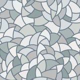 Modello di mosaico senza cuciture di vettore di poligonale Fotografia Stock Libera da Diritti