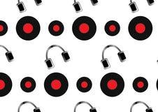 Modello di musica Immagini Stock Libere da Diritti