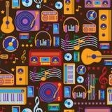 Modello di musica Immagini Stock