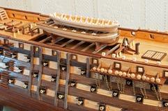 Modello di nave Immagini Stock