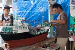 Modello di nave Fotografie Stock Libere da Diritti