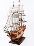 Modello di nave di navigazione Fotografia Stock