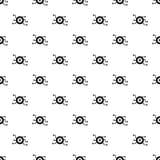 Modello di occhio cyber, stile semplice Fotografie Stock