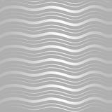 Modello di onda d'argento Immagini Stock Libere da Diritti