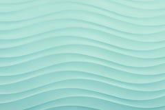 Modello di onda di superficie del mare in blu Fotografia Stock Libera da Diritti