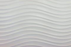 Modello di onda di superficie del mare nel bianco Immagine Stock Libera da Diritti