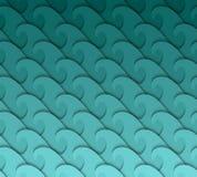 Modello di onda senza cuciture. Fotografia Stock