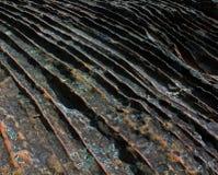 Modello di onde di pietra Fotografia Stock Libera da Diritti