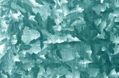 Modello di piastra metallica di ciano colore Fotografia Stock Libera da Diritti