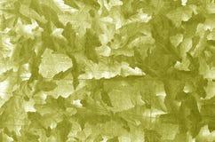 Modello di piastra metallica di colore giallo Fotografia Stock