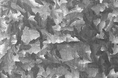 Modello di piastra metallica di colore grigio Fotografia Stock