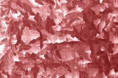Modello di piastra metallica di colore rosso Fotografia Stock Libera da Diritti