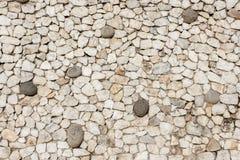 Modello di pietra del fondo Fotografia Stock